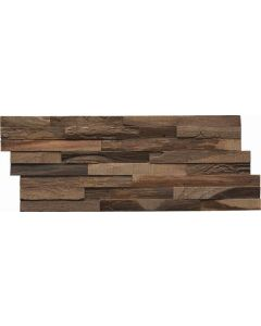 INDO Wood wall covering Teak DA82050CH Charred 20 x 500 x 200 MM