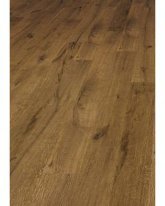 FloorArt 3 layers prefabricated parquet Oak Strongly brushed Rustic Caucasus lightly smoked 14.2 x 2130 x 240 MM