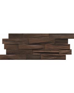 INDO Wood wall covering Bangkirai BCL02CH Charred FSC 100% 18 x 500 x 200 MM