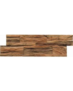 INDO Wood wall covering Teak DWETC275N Nature 20 x 555 x 180 MM