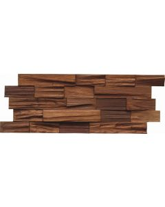 INDO Holzwandbelag Bangkirai BCL03CO Coffee FSC 100% 18 x 500 x 200 MM