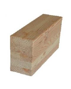 HIT Glued timber-construction VI Larch indigenous Planed Visible N PEFC MIND. 70% 100 x 100 x 13000 MM