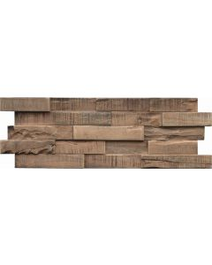 INDO Wood wall covering Gum tree R52056SW Stone washed 18 x 560 x 200 MM