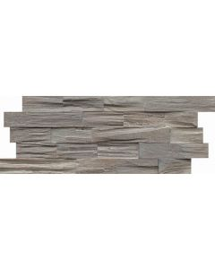 INDO Wood wall covering Bangkirai BCL01WW White wash FSC 100% 18 x 500 x 200 MM