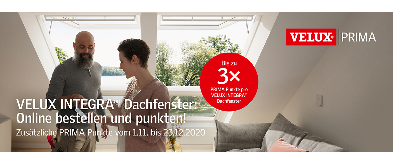 Velux Integra Dachfenster Aktion Foto